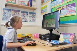 Matilda Boddington - 3 with computer