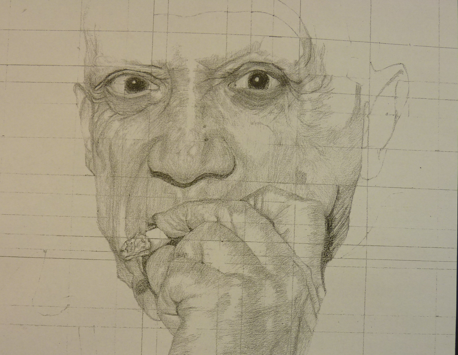 Picasso Pencil Drawing Year 8 Cranleigh Preparatory