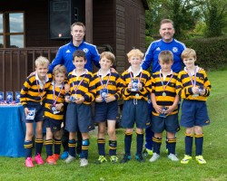 CPS U9Bs with Graeme and Keith