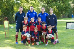 Thomas's Fulham team photo