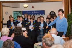 Chamber choir at Rowleys