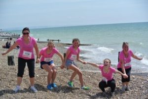 Race for Life  - Heather