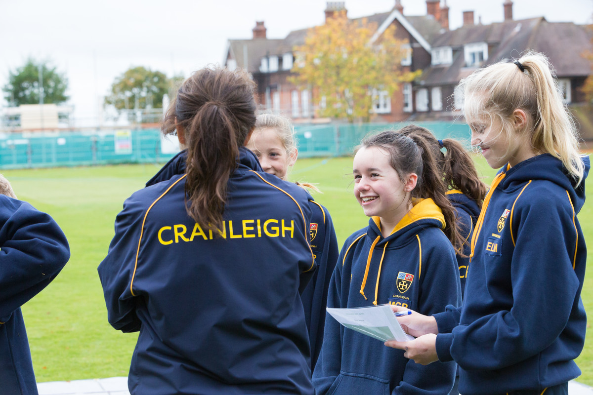 Form 5 Leadership and Teambuilding activities - Cranleigh